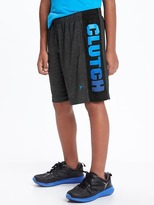Old Navy Go-Dry Graphic Relaxed Shorts for Boys