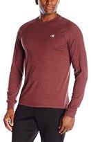 Champion Men's Vapor Cotton Long-Sleeve T-Shirt