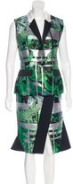 Peter Pilotto Ikebana Brocade Skirt Set