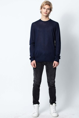 Zadig & Voltaire Kennedy Cp Spi Mens Sweater