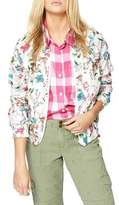 Sanctuary In Bloom Zip-Up Cotton Jacket