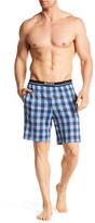 HUGO BOSS Plaid Pajama Shorts