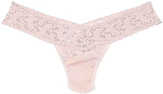 Hanky Panky Low Rise Thong in Taupe