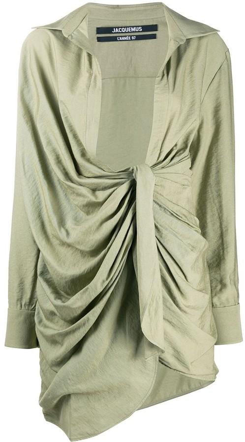 Jacquemus La robe Bahia shirt dress