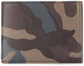 Orciani 'Mimetic' camouflage billfold wallet