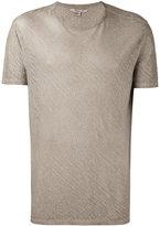 John Varvatos classic T-shirt - men - Linen/Flax - M