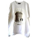 Givenchy White Cotton Knitwear Sweatshirt