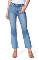 Paige Colette High Waist Twisted Crop Flare Jeans