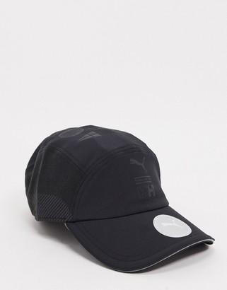 Puma x Helly Hansen adjustable cap in black