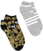 adidas 2 pack trainer socks