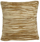 """Austin Horn Classics Antoinette Pleated Silk Pillow with Feather/Down Insert, 18""""Sq."""