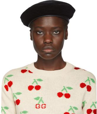 Gucci Black Emile Beret