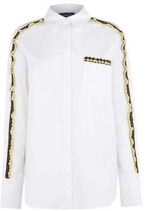 Sportmax Code Crochet Pocket Shirt