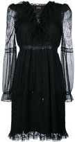 Just Cavalli layered mesh dress - women - Polyamide/Polyester - 40