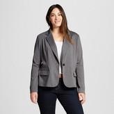 Women's Plus Size Ponte Blazer - Merona