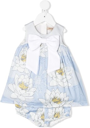 Hucklebones London Giant Bow Dress & Bloomers