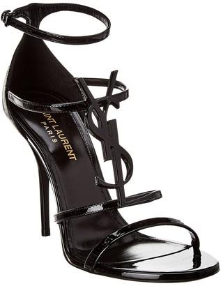 Saint Laurent Cassandra 100 Patent Sandal