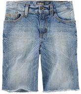 Osh Kosh 4-12 Sun-Faded Medium Wash Denim Shorts