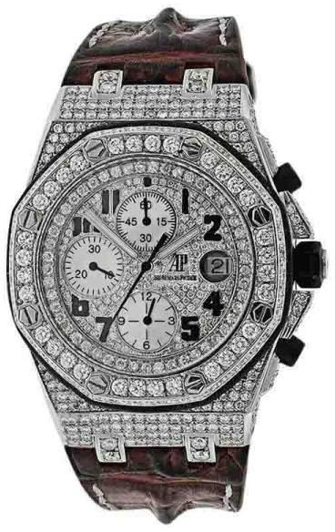 Audemars Piguet Royal Oak Offshore Stainless Steel Chronograph 42mm Mens Watch