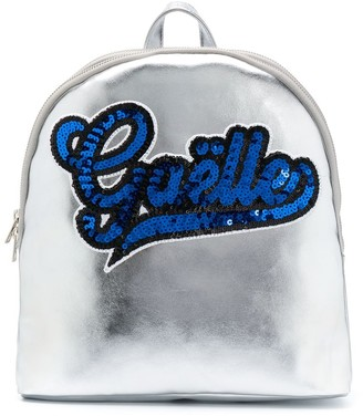 Gaelle Paris Kids Sequin Logo Backpack