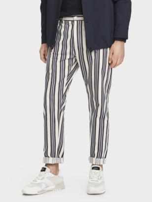 Scotch & Soda The Norm - Stripe Out High-rise jeans   Men