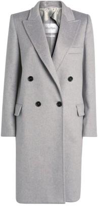 Max Mara Alba Double-Breastedcashmere Coat