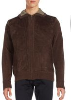 Saks Fifth Avenue Chenille Trimmed Jacket