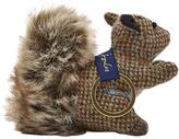 Joules Tweedle Squirrel Keyring, Brown