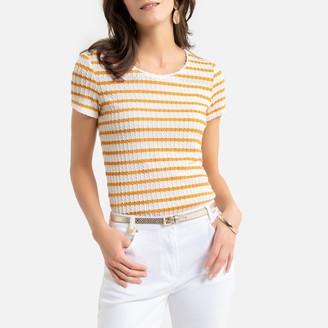 Anne Weyburn Striped Short-Sleeved T-Shirt