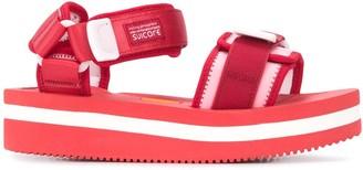 Suicoke Strappy Platform Sole Sandals