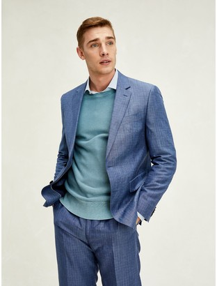 Tommy Hilfiger Regular Fit Linen And Wool Suit