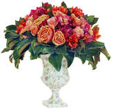 "Winward Silks 26"" Rose & Magnolia Arrangement - Faux"