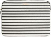 "Kate Spade 13"" Striped Laptop Sleeve"