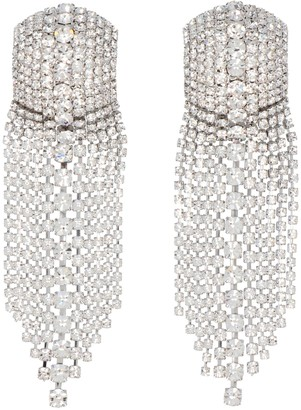 Alessandra Rich Crystal Chandelier Earrings