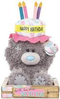 Me To You Tatty Teddy Birthday Cake Hat Bear 22cm