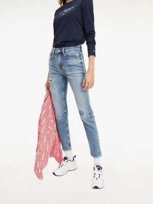 Tommy Hilfiger Izzy High Rise Slim Fit Jeans