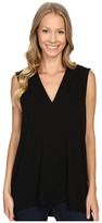 Vince Camuto Sleeveless V-Neck Top Women's Clothing