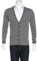 CNC Costume National Wool V-Neck Cardigan