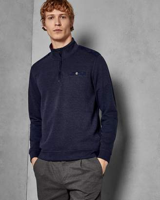 Ted Baker Funnel Neck Zipped Jumper