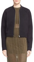 Alexander Wang Scuba Knit Neoprene Bomber Jacket