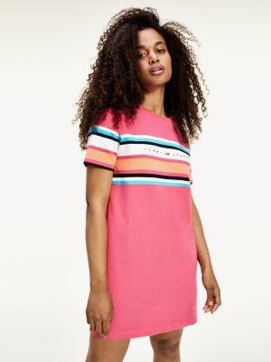 Tommy Hilfiger Organic Cotton Stripe T-Shirt Dress