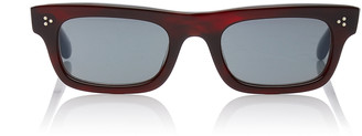 Oliver Peoples Jaye Rectangular-Frame Acetate Sunglasses