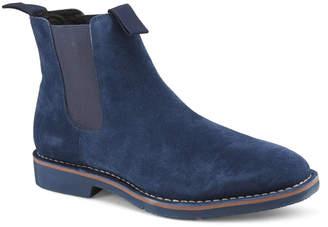 Vintage Foundry Men's Suede Chelsea Boots