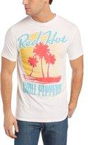 Bravado Men's Red Hot Chili Peppers Beach Scene T-Shirt