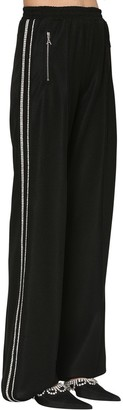 Area Embellished Techno Piquet Track Pants