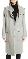 Theory Women's New Divide Duffle Wool & Cashmere Coat