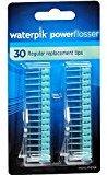 Waterpik Powerflosser Regular Replacement Tips FT-01 30 ea (Pack of 2)