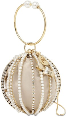 Rosantica Mini Loulou Crystal Top Handle Bag