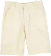 E-Land Kids Light Beige Linen Shorts - Boys
