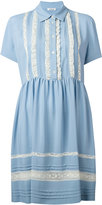 P.A.R.O.S.H. ruffled trim shirt dress